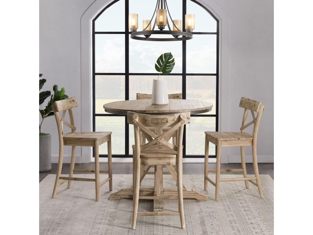 Elements CallistaRound Counter Height Dining Table