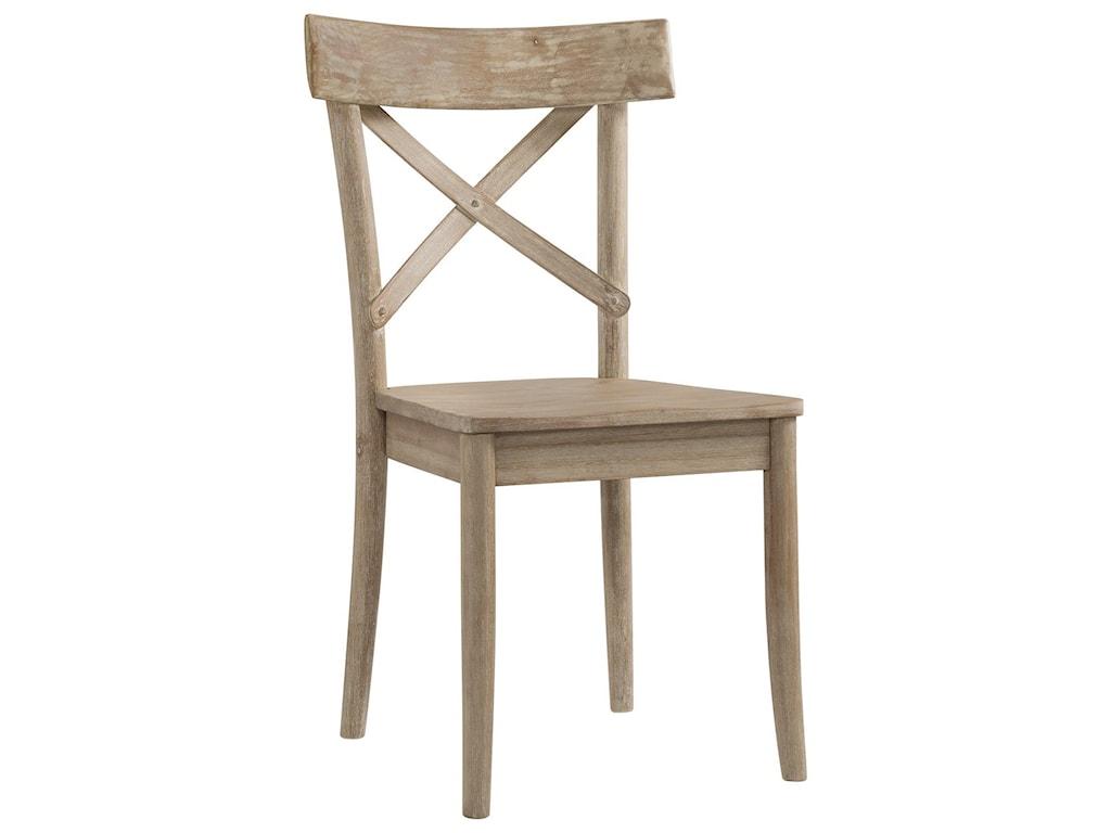 Elements CallistaX-Back Wooden Side Chair