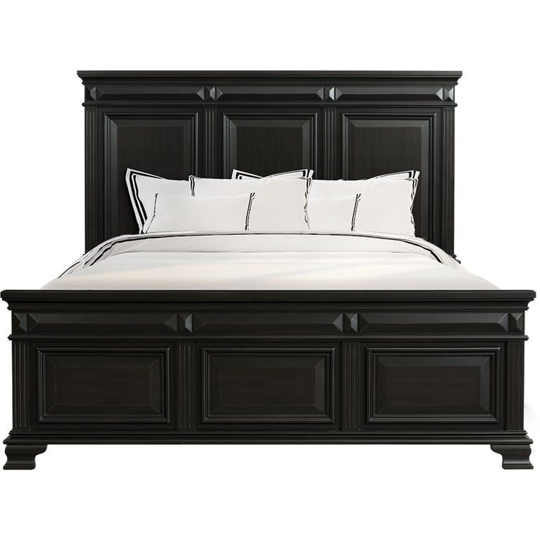 Picture of: Elements Calloway Traditional Queen Headboard And Footboard Bed Royal Furniture Panel Beds