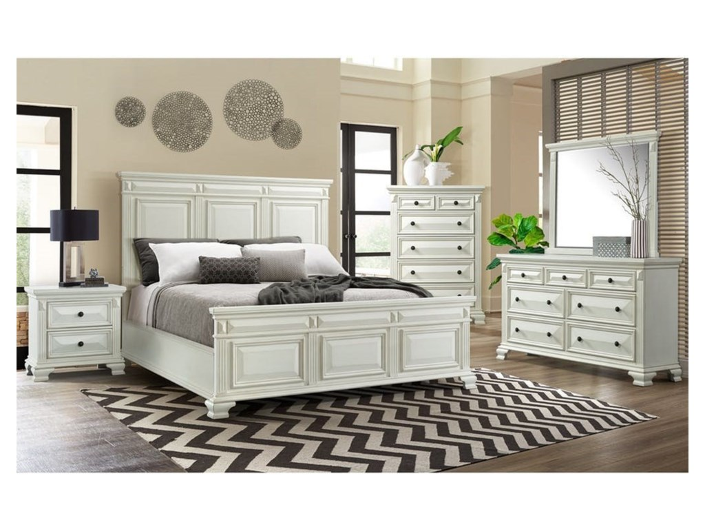 Elements CallowayQueen Headboard and Footboard Bed