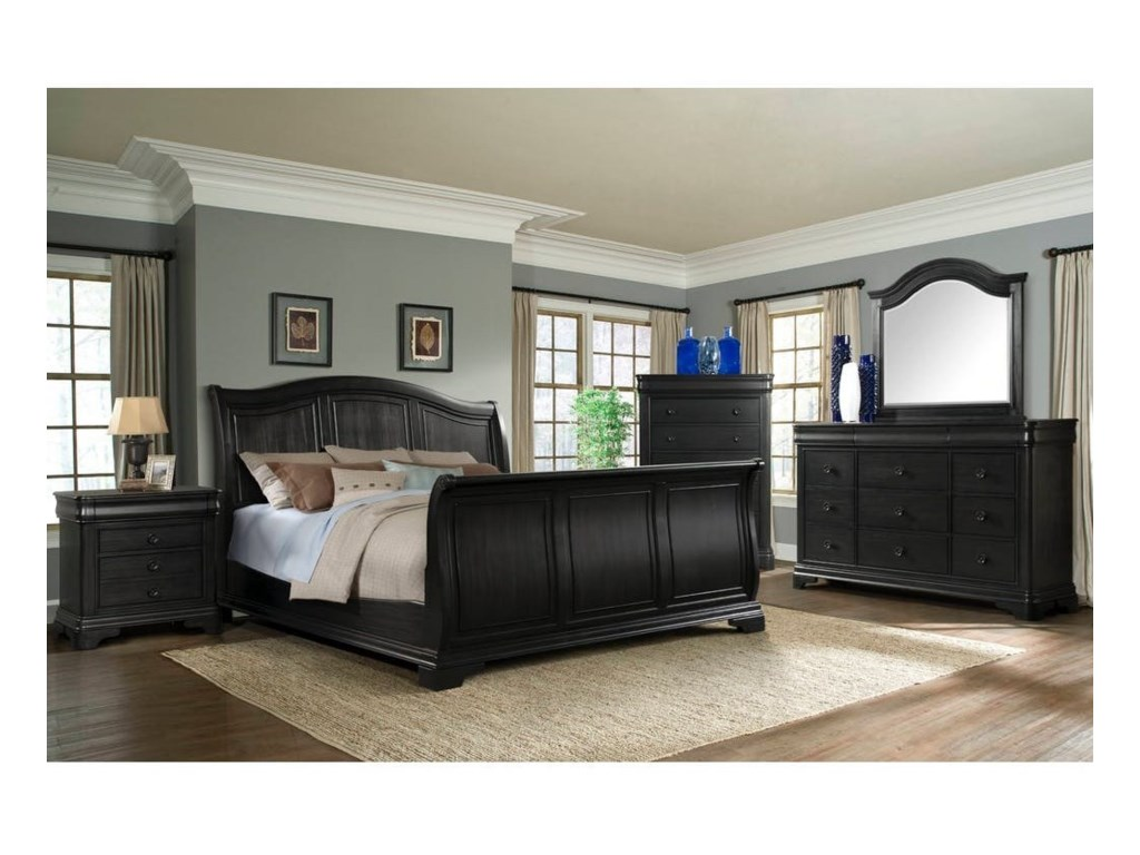 Elements International Cameron Queen Bedroom Group | Miskelly ...