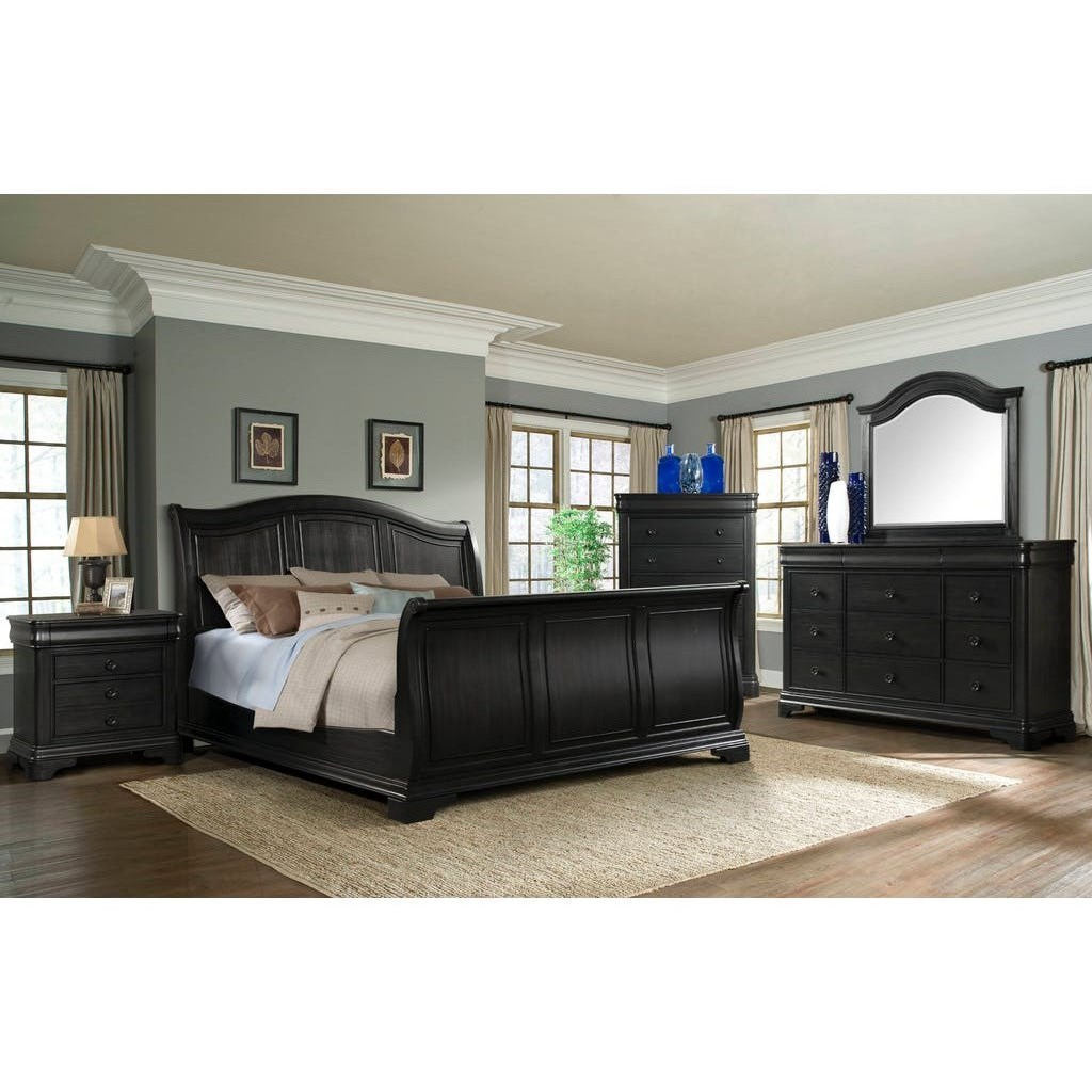 Elements International CameronQueen Bedroom Group