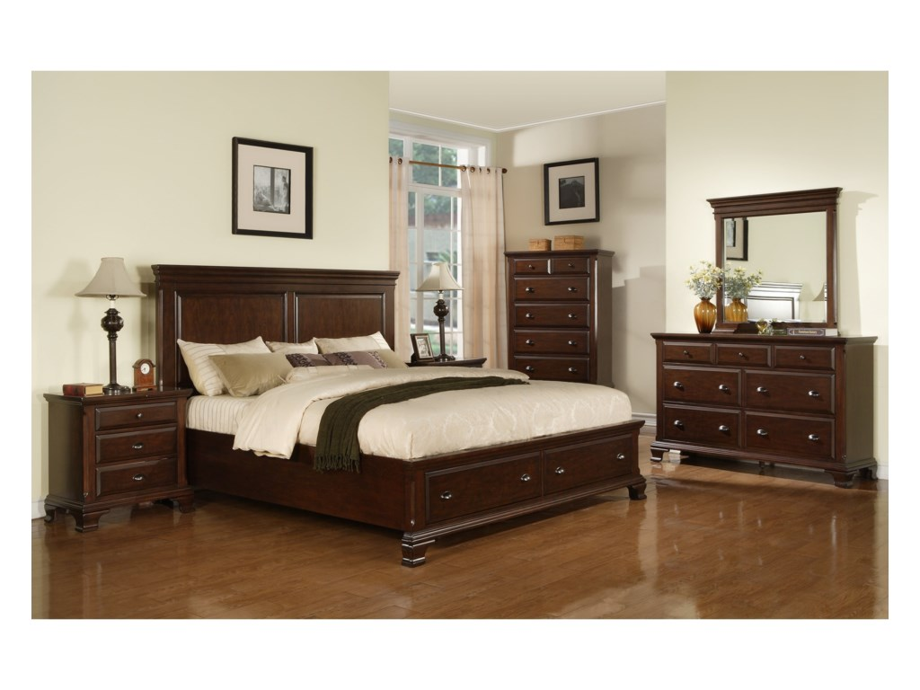 Elements CantonKing Bedroom Group