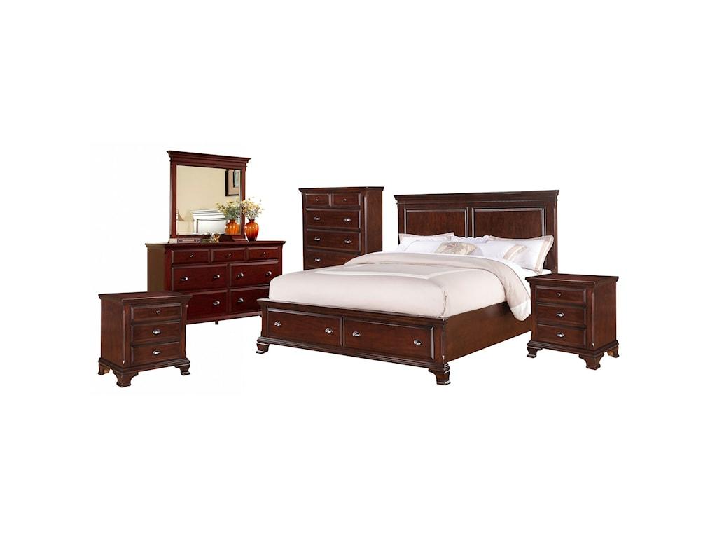 Elements CantonQueen Bedroom Group