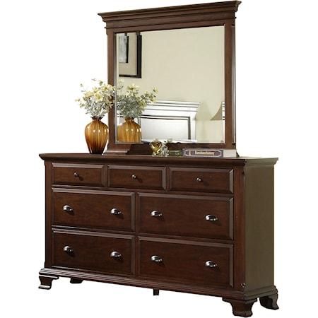 Dresser & Mirror Combo