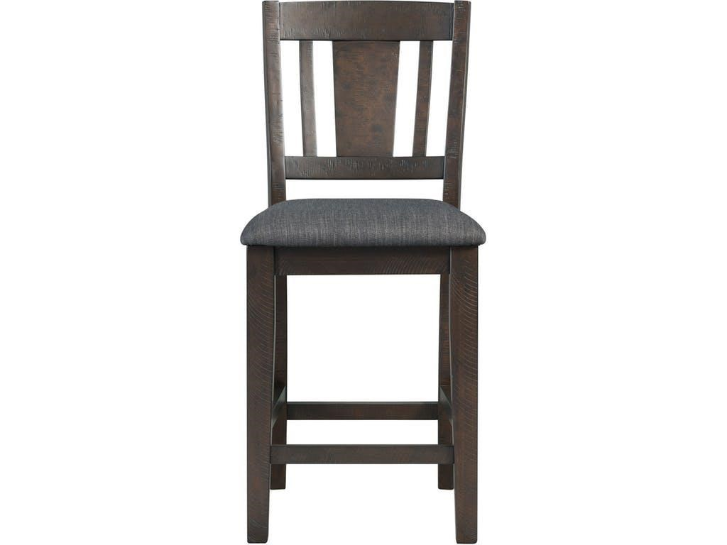Elements International CashCounter Height Table, 4 Chairs & Bench