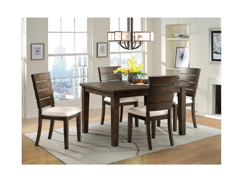 Elements CatoDining Set with 4 Chairs