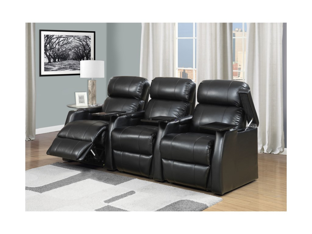 Elements CecilPower Recliner Sectional Sofa