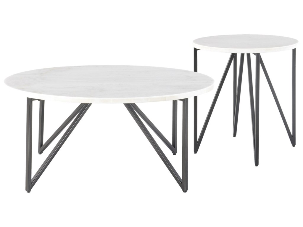 Elements Cedric2 Piece Occasional Table Set