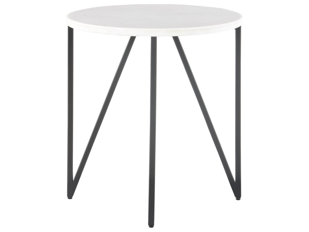 Elements CedricRound End Table