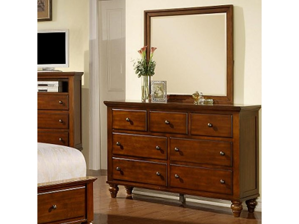 Elements International ChathamDresser Mirror