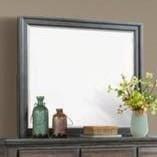 Elements International Chatham GrayDresser Mirror