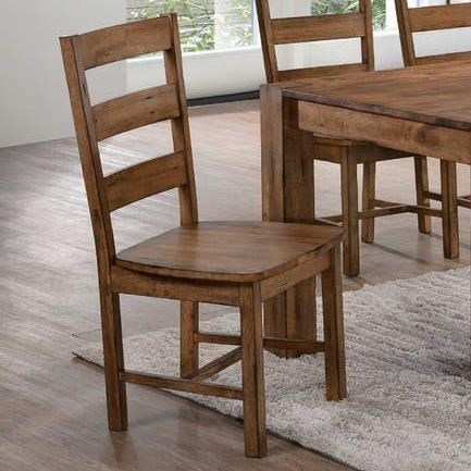 Elements International Cheyenne Ladderback Dining Side Chair | Miskelly  Furniture | Dining Side Chairs