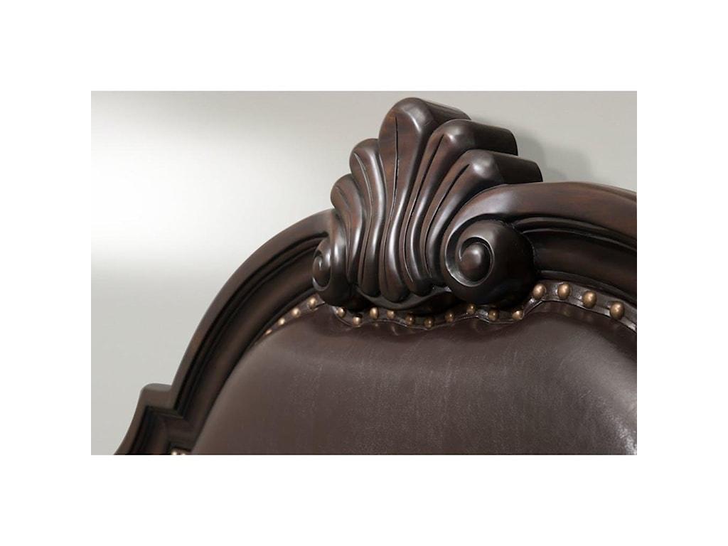 Elements International ClassicQueen Bed