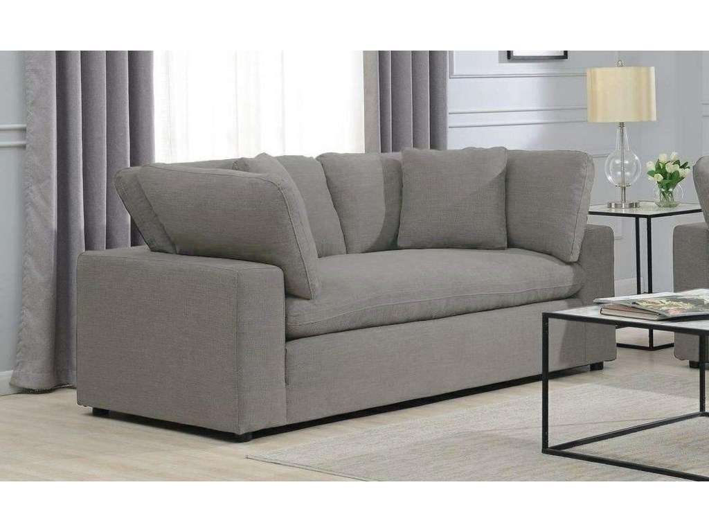 Elements International Cloud 9Loveseat