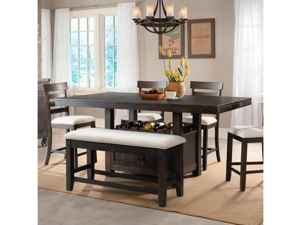 Elements International ColoradoCounter Height Table