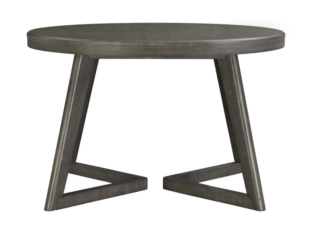 Cross Contemporary Round Dining Table by Elements International at Lindy\'s  Furniture Company