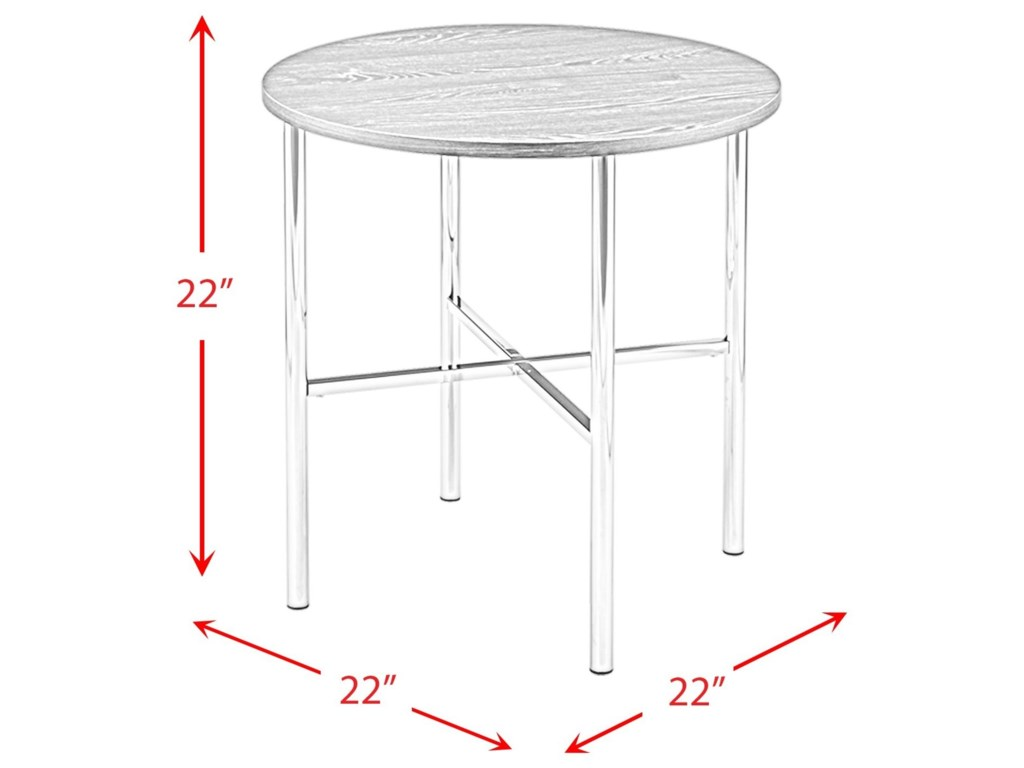 Elements Dakota3PC Occasional Table Set