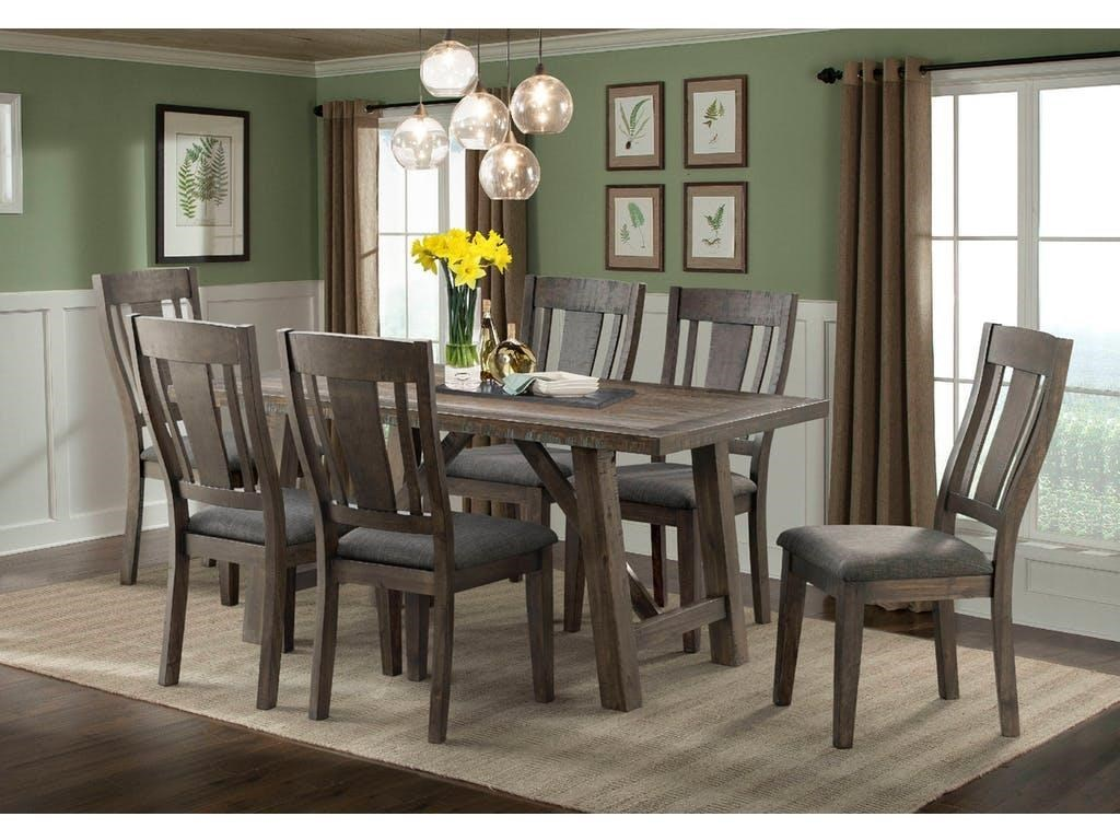 Elements international cashdining table chair set