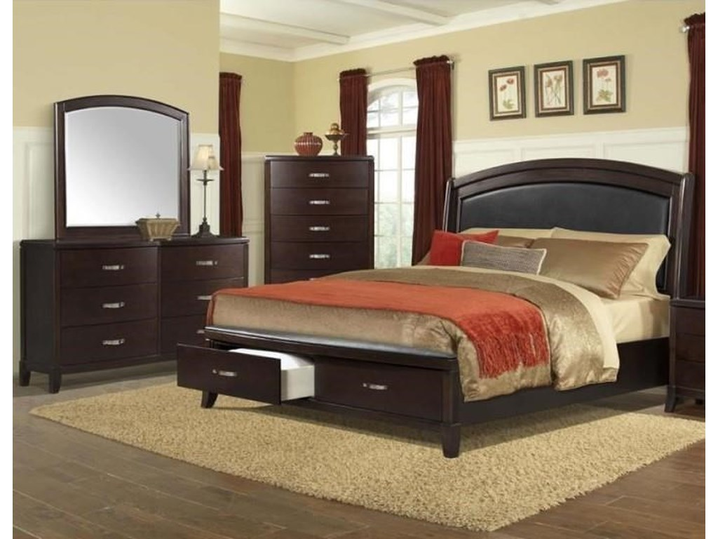 Elements DelaneyKing 5 Piece Bedroom Group