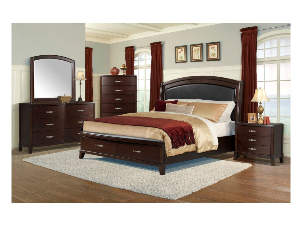 Elements DelaneyQueen Low Profile Bed