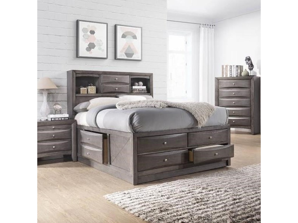 Elements International EmilyTwin Bed