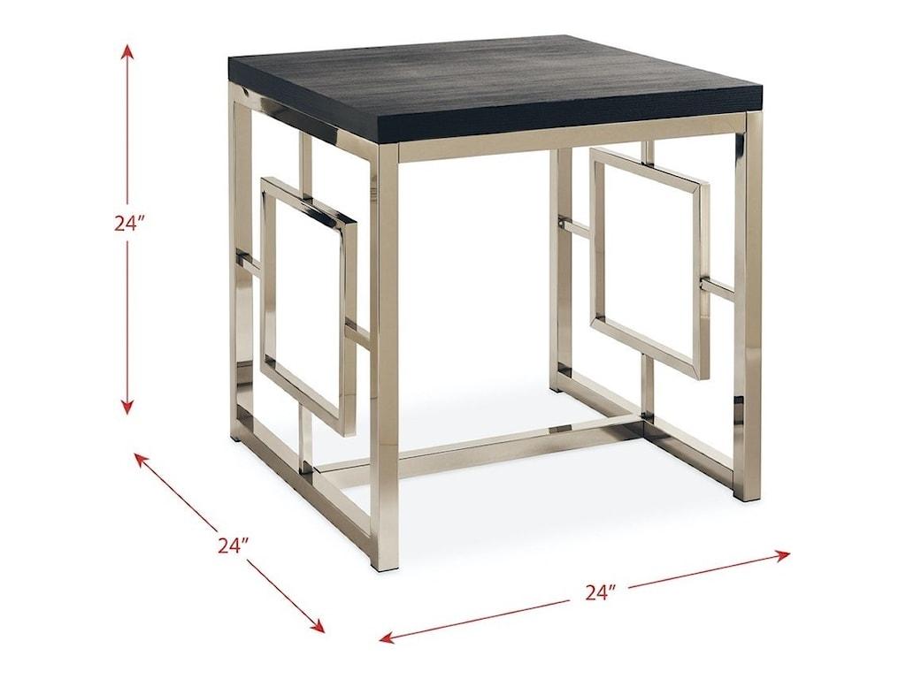 Elements International EzraEnd Table