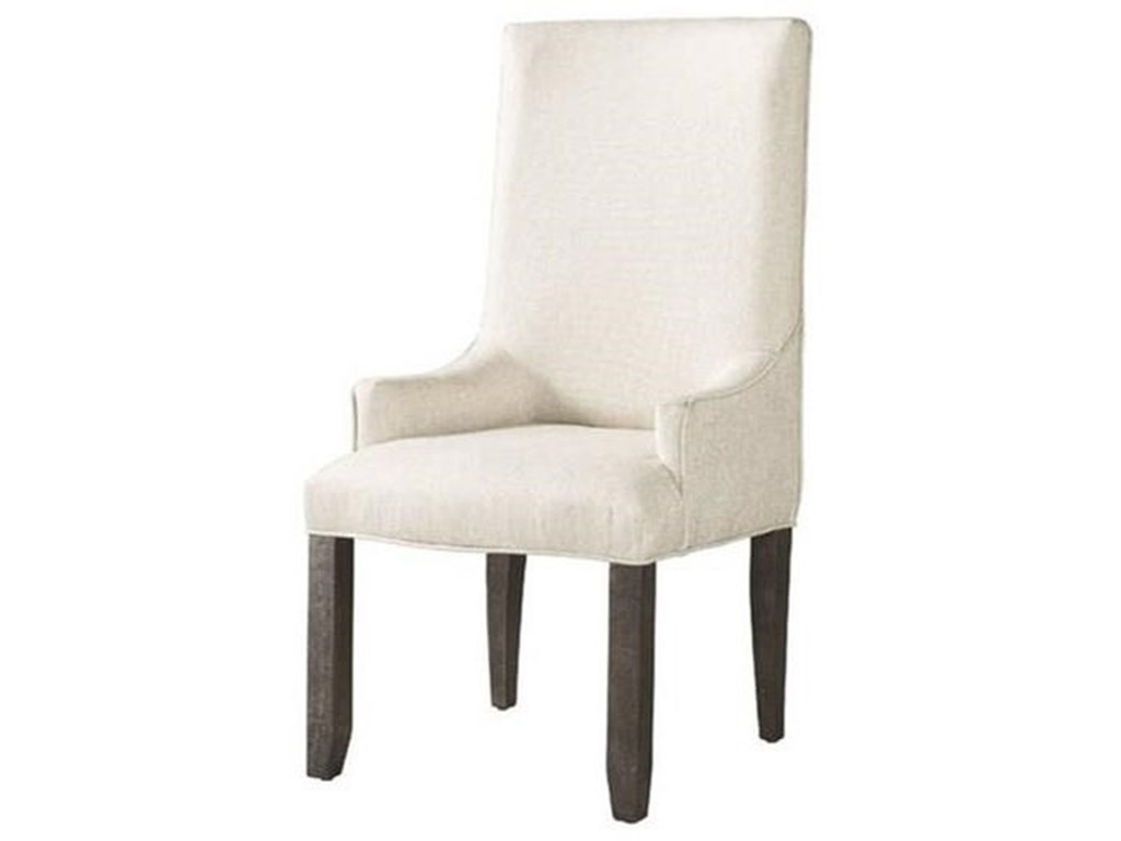 Elements International FinnUpholstered Arm Chair