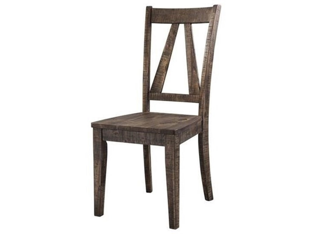 Elements International FinnWood Side Chair