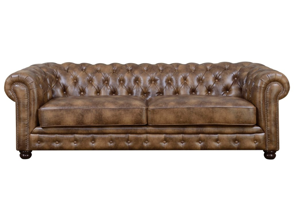 Chesterfield Tufted Sofa