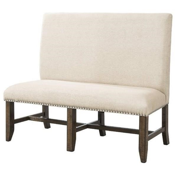 Elements International FranklinFabric Back Bench ...