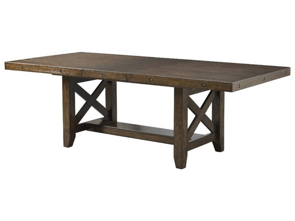 Elements International FranklinTable Set with Dining Bench