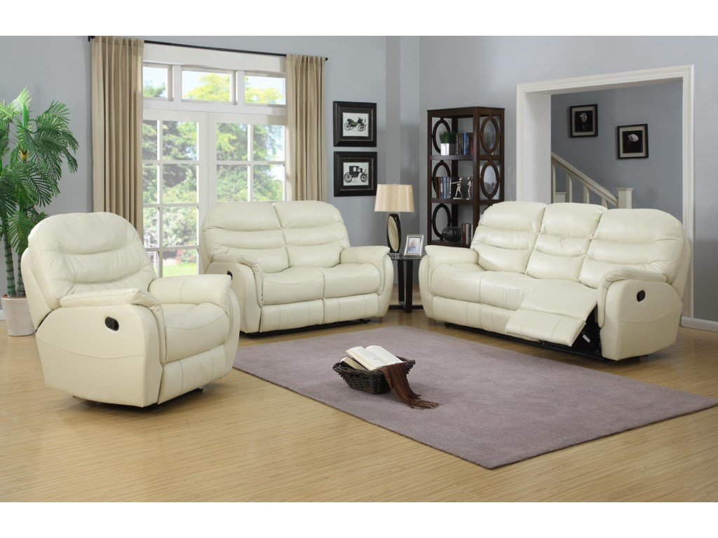 Elements International GrantCasual Motion Sofa