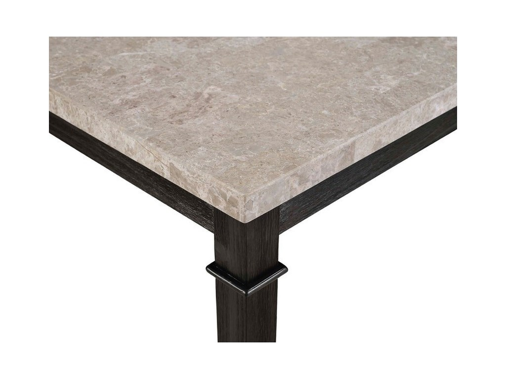 Elements International GreystoneCounter Height Table