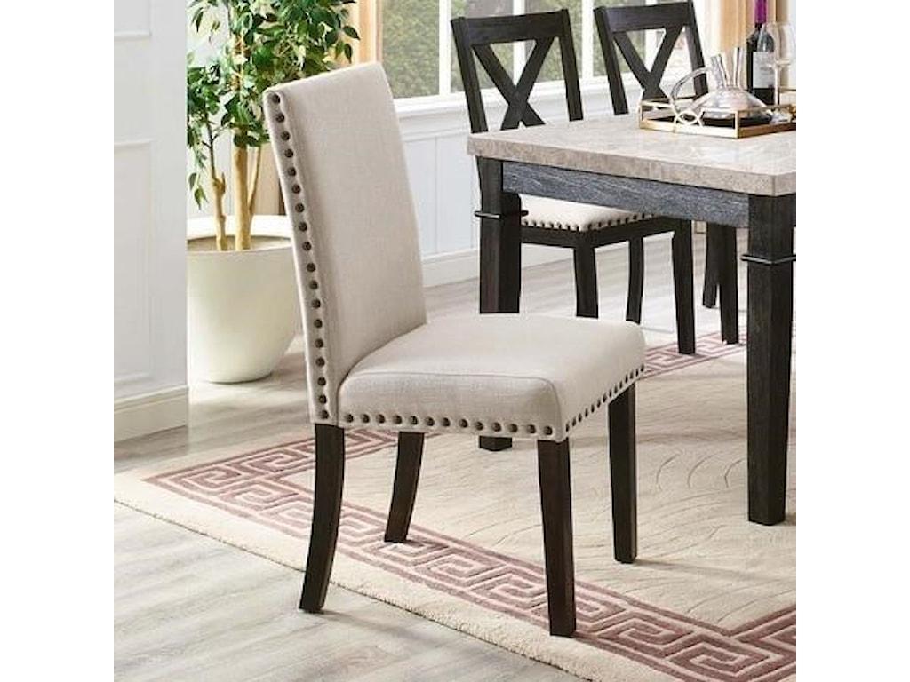 Elements International GreystoneSide Chair Set