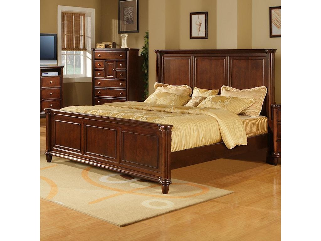 Elements International HamiltonKing Bed