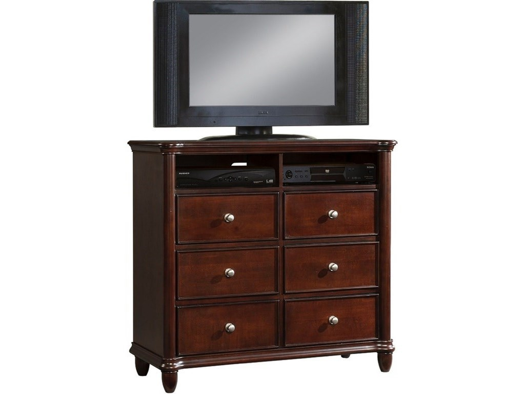 Elements Hamilton Traditional Bedroom Tv Stand Royal Furniture Media Chests