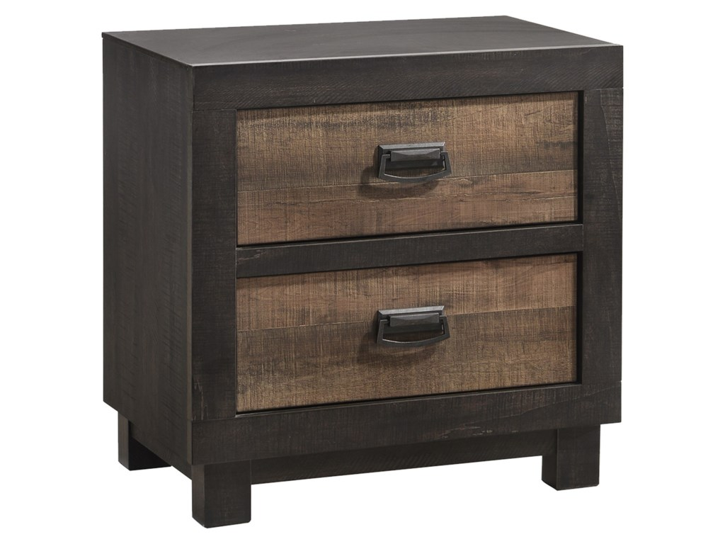 Elements Harlington2-Drawer Nightstand