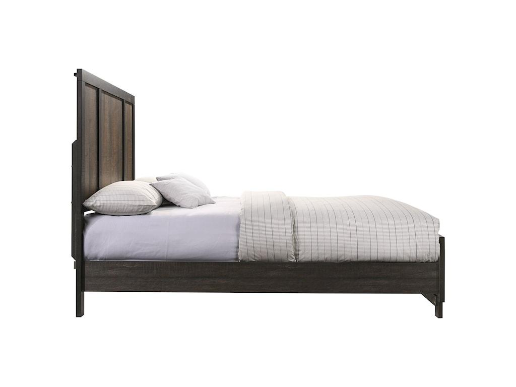 Elements International HarlingtonQueen Panel Bed