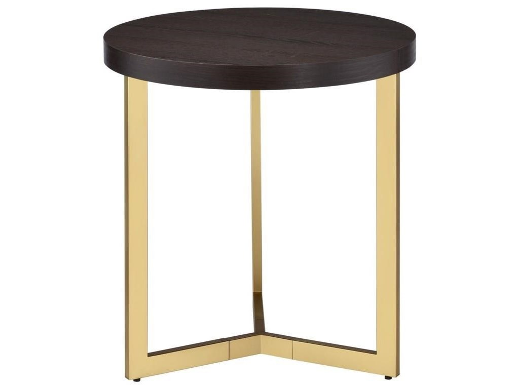 Elements International HarperCocktail Table and End Table Set