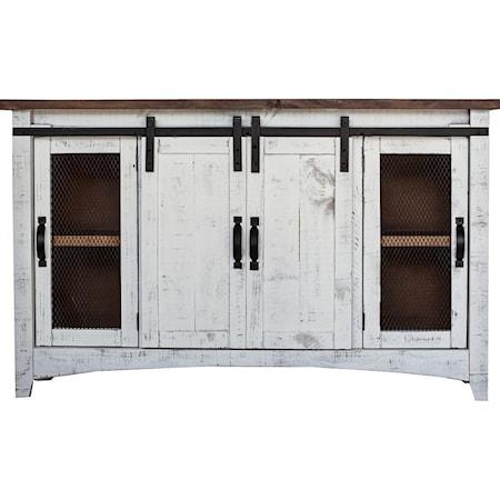 Barn Door Console