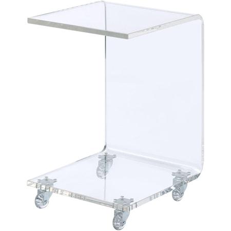 Acrylic Snack Table