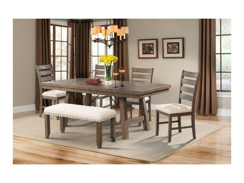 Elements International JaxDining Set