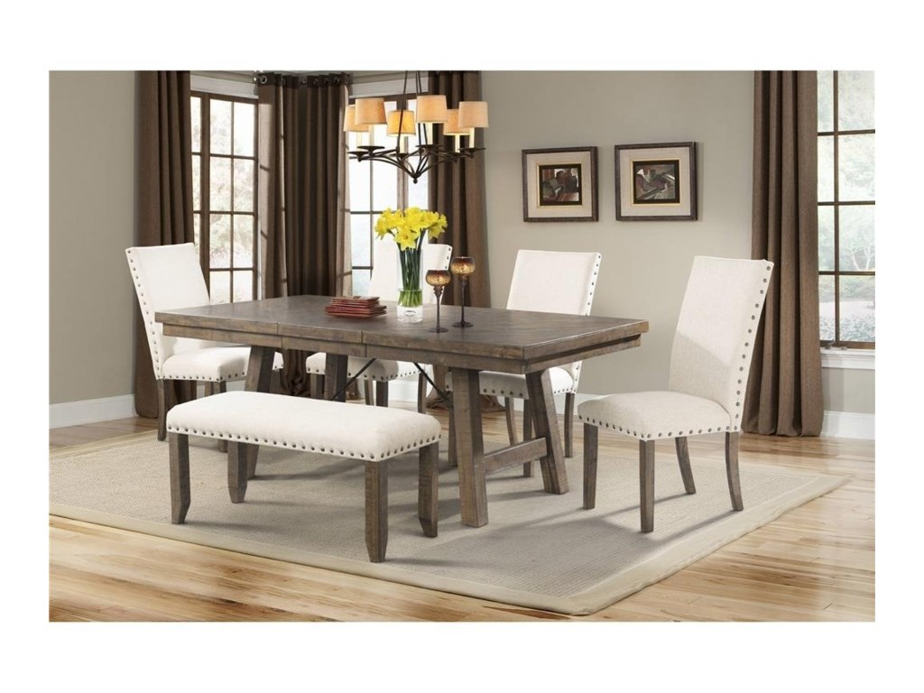 Jax Dining Set with Bench