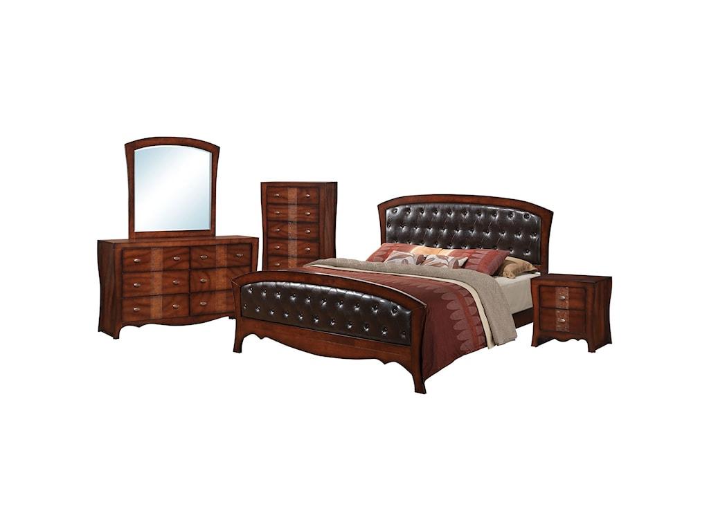 Jenny 5-Piece Queen Bedroom Set