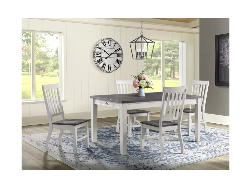 Elements Kayla5-Piece Dining Table and Chair Set