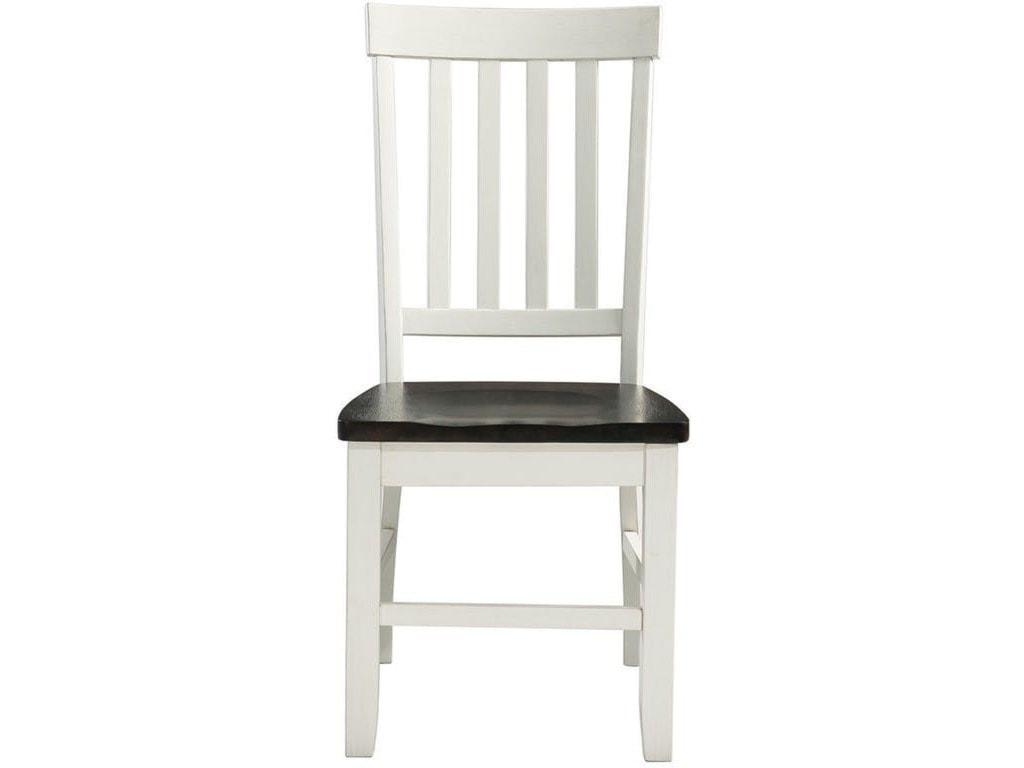 Elements International KaylaTwo-Tone Side Chair