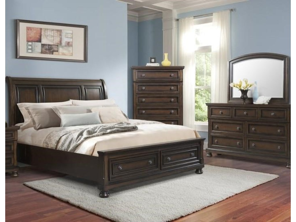 Elements Kingston Queen 5 Piece Bedroom Group Royal Furniture