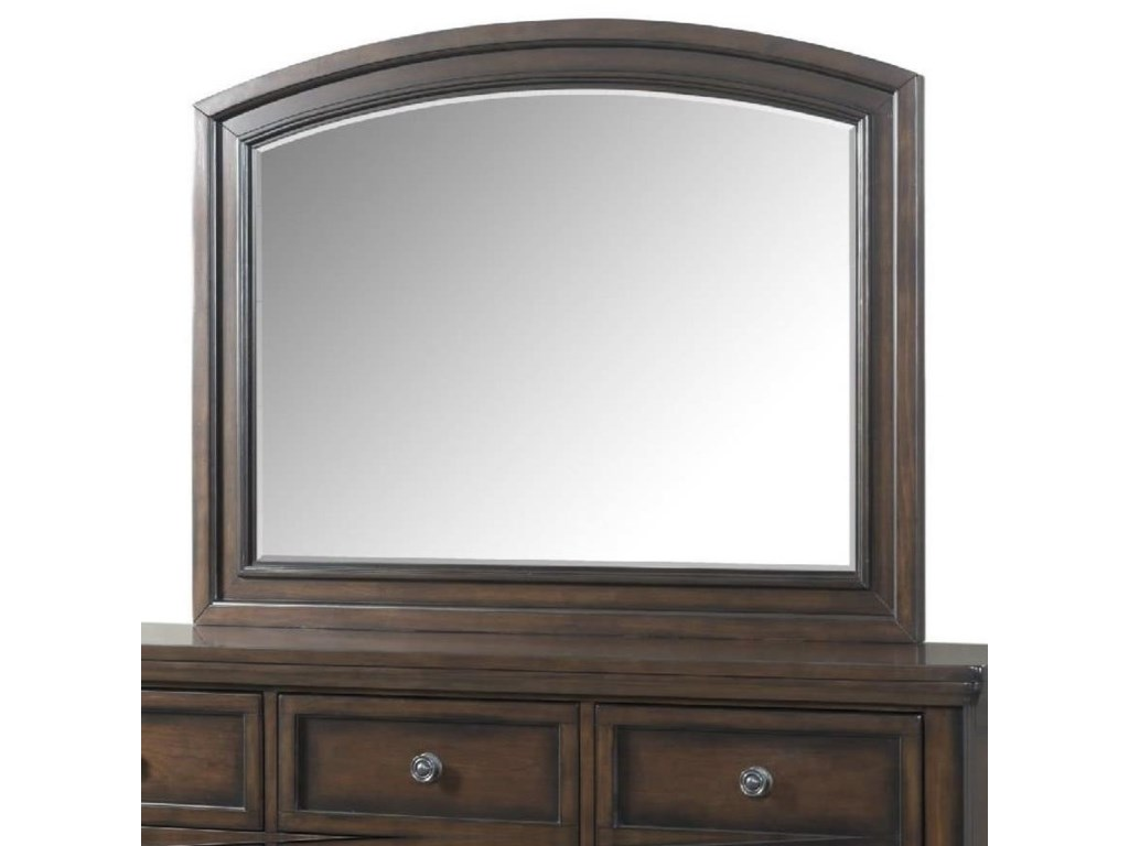 Elements International KingstonMirror with Wood Frame