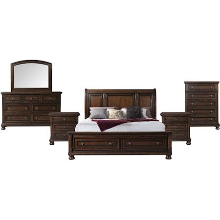 Queen 6 Piece Bedroom Group